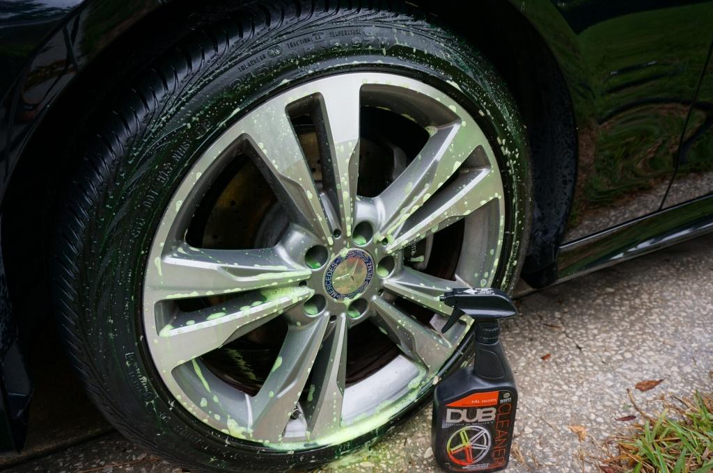DUB Wheel Cleaner Application